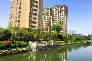 江南御府围墙内景绿化工程